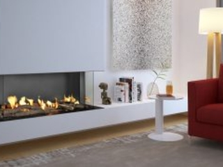 frameless fireplace