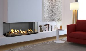 frameless fireplace